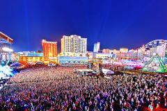photographie aérienne drone concert événement