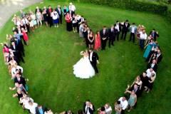 photographie aérienne drone concert événement mariage