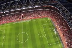 photographie aérienne drone événement sportif