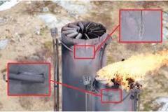 inspection industrielle cheminée par drone
