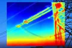 inspection industrielle réseau électrique par drone