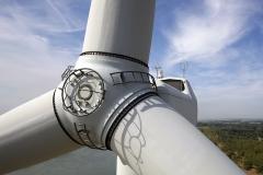inspection industrielle éolienne par drone