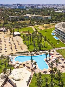 photographie aérienne hôtel
