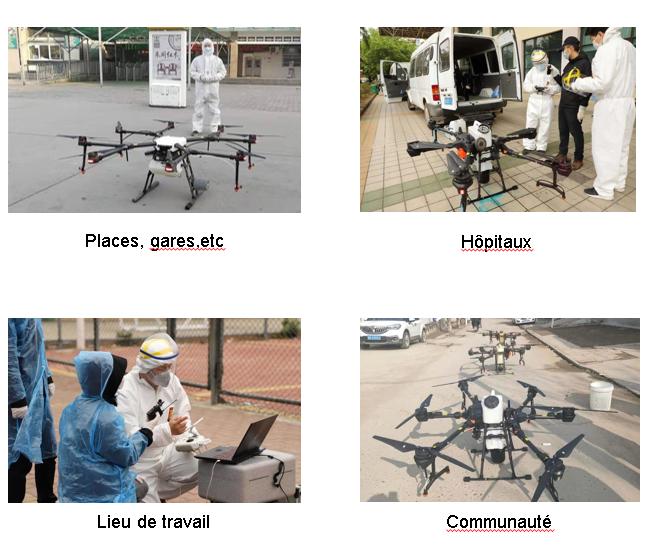 Pulvérisation drone maroc
